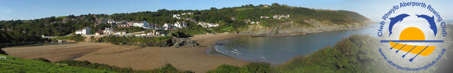 Clwb Rhwyfo Aberporth Rowing Club Rotating Header Image