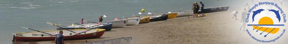 Clwb Rhwyfo Aberporth Rowing Club Rotating Header Image