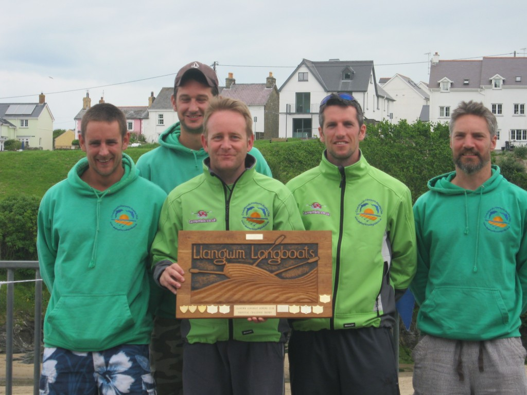 Winners of Llangwm Seniors Race 2012