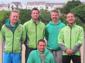 Winners of Senior Race - Pembrokeshire Yatch Club Rowing Regatta 2012