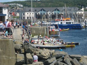 Aberystwyth harbour